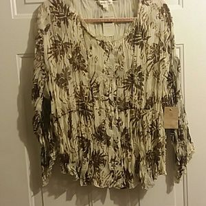 NWT Coldwater Creek XL Top